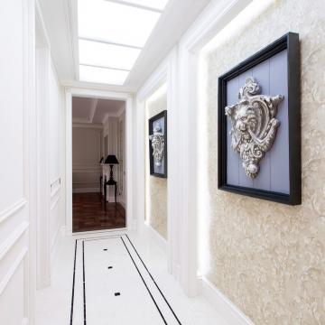 Идеи дизайна для узкого коридора