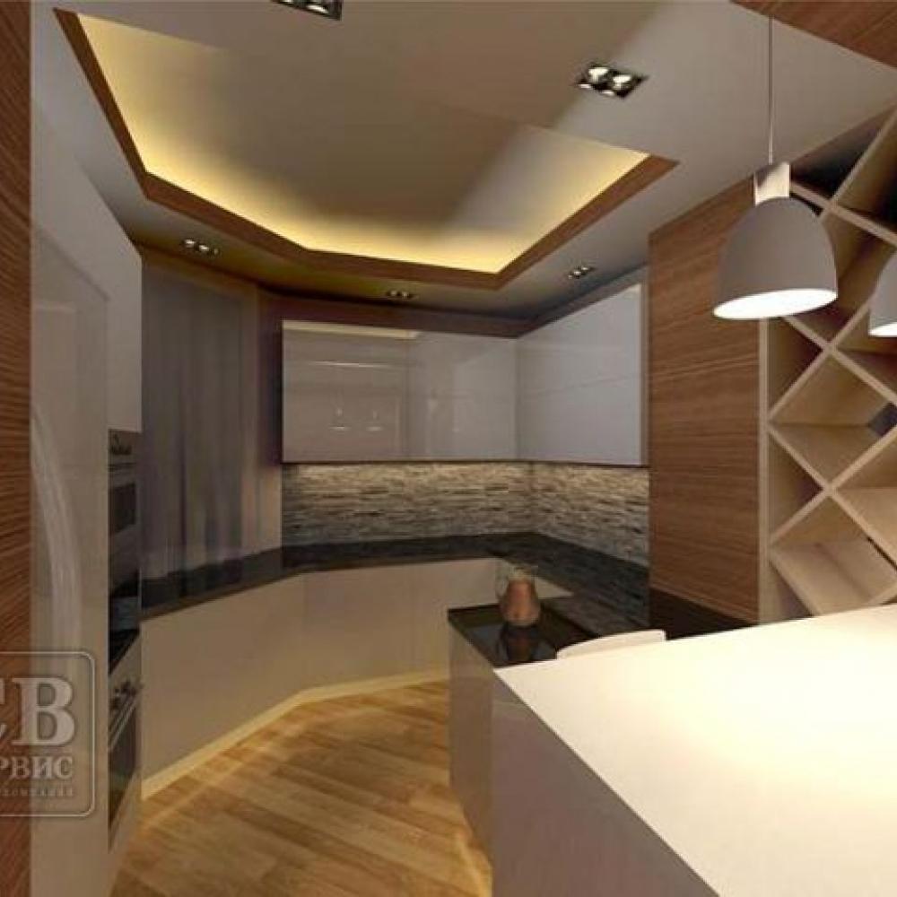 Дизайн интерьера (м. Братиславская)