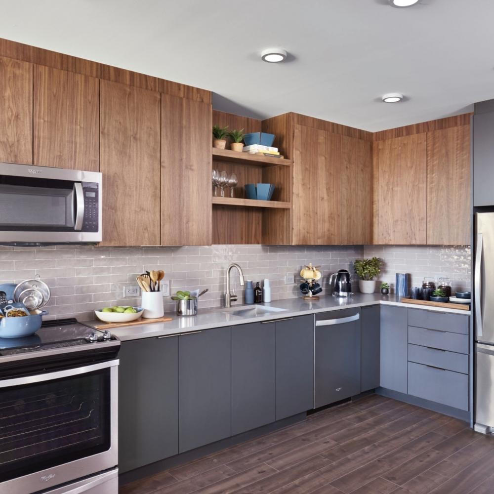 Дизайн проект однокомнатной квартиры 33 кв м