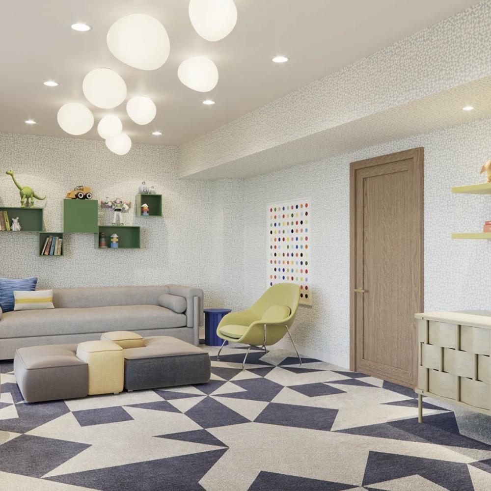 Дизайн проект прямоугольной квартиры студии на 40 кв м