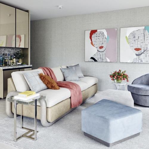 Дизайн проект маленькой квартиры студии на 25-27 кв м