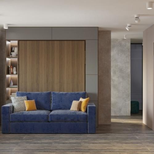 Дизайн однокомнатной квартиры (м. Коммунарка)