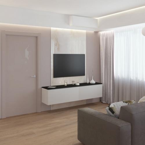 Дизайн двухкомнатной квартиры (м. Коммунарка)