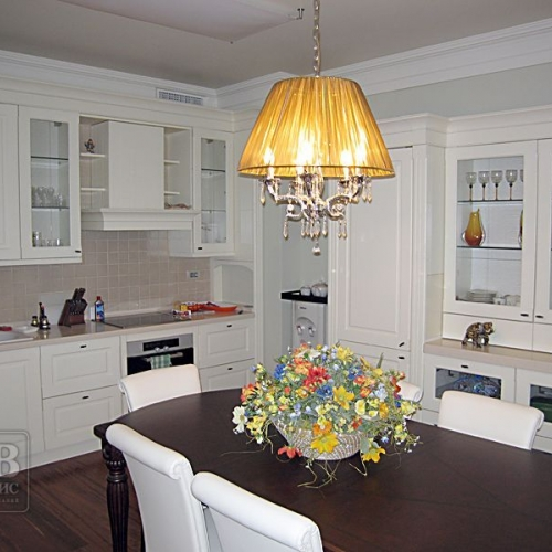 Дизайн трехкомнатной квартиры (м. Коломенская)