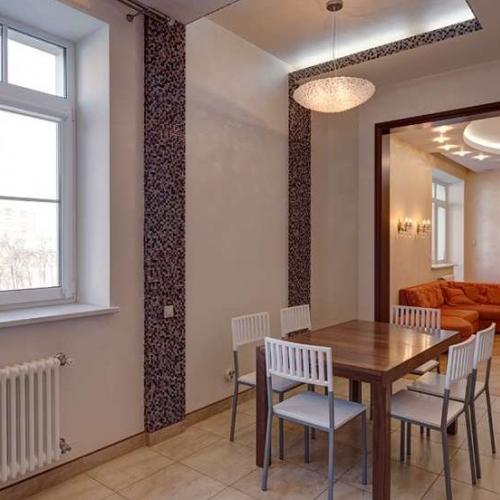 Ремонт трехкомнатной квартиры (м. Серпуховская)